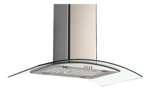 CROWN ISOLA 90 - 90-Cm Island Cooker Hood