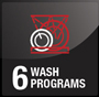 SERENE FI 02 6 Washing Programs